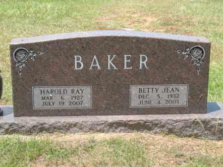 BAKER, HAROLD RAY - Lafayette County, Arkansas | HAROLD RAY BAKER - Arkansas Gravestone Photos