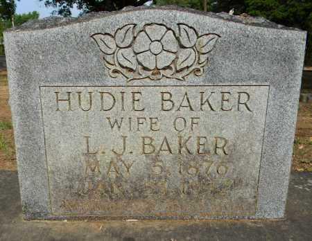BAKER, HUDIE - Lafayette County, Arkansas | HUDIE BAKER - Arkansas Gravestone Photos