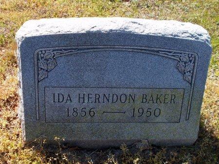BAKER, IDA - Lafayette County, Arkansas   IDA BAKER - Arkansas Gravestone Photos