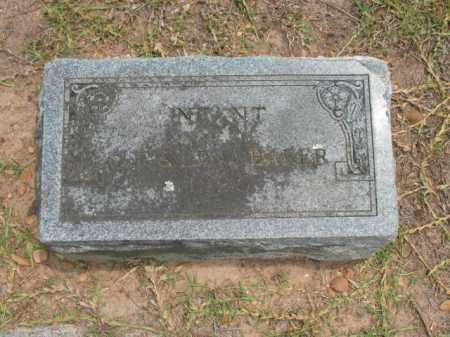 BAKER, INFANT SON - Lafayette County, Arkansas | INFANT SON BAKER - Arkansas Gravestone Photos