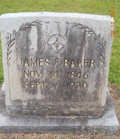 BAKER, JAMES F - Lafayette County, Arkansas   JAMES F BAKER - Arkansas Gravestone Photos