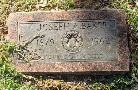 BAKER, JOSEPH A - Lafayette County, Arkansas   JOSEPH A BAKER - Arkansas Gravestone Photos