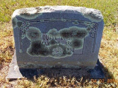 BAKER, LOUISE - Lafayette County, Arkansas | LOUISE BAKER - Arkansas Gravestone Photos