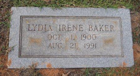 BAKER, LYDIA IRENE - Lafayette County, Arkansas | LYDIA IRENE BAKER - Arkansas Gravestone Photos