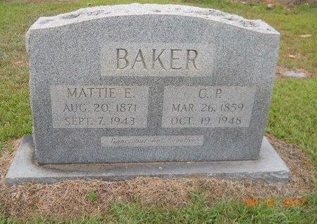 BAKER, C. P. - Lafayette County, Arkansas | C. P. BAKER - Arkansas Gravestone Photos