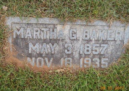 BAKER, MARTHA G - Lafayette County, Arkansas | MARTHA G BAKER - Arkansas Gravestone Photos