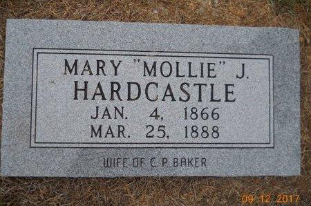 "BAKER, MARY J ""MOLLIE"" - Lafayette County, Arkansas | MARY J ""MOLLIE"" BAKER - Arkansas Gravestone Photos"