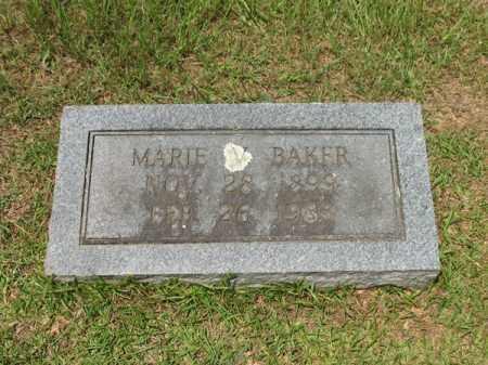 BAKER, MARIE V - Lafayette County, Arkansas | MARIE V BAKER - Arkansas Gravestone Photos