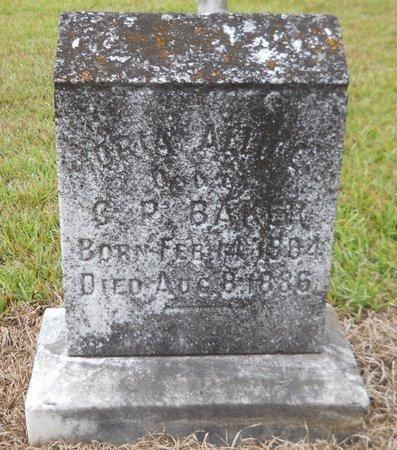 BAKER, ORIA ALLICE - Lafayette County, Arkansas | ORIA ALLICE BAKER - Arkansas Gravestone Photos