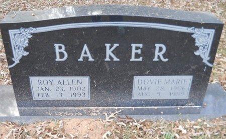 BAKER, ROY ALLEN - Lafayette County, Arkansas   ROY ALLEN BAKER - Arkansas Gravestone Photos