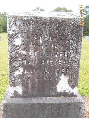 BAKER, SARAH - Lafayette County, Arkansas   SARAH BAKER - Arkansas Gravestone Photos