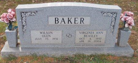 BAKER, VIRGINIA ANN - Lafayette County, Arkansas   VIRGINIA ANN BAKER - Arkansas Gravestone Photos