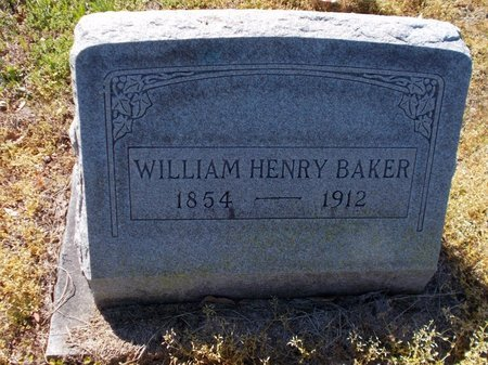 BAKER, WILLIAM HENRY - Lafayette County, Arkansas   WILLIAM HENRY BAKER - Arkansas Gravestone Photos