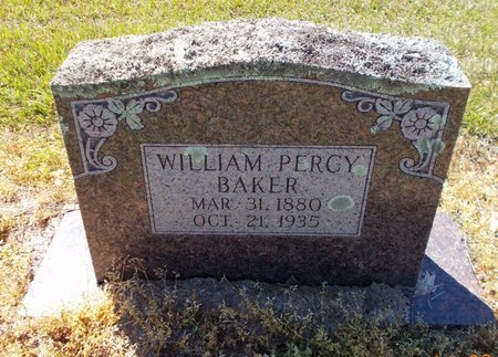 BAKER, WILLIAM PEARCY - Lafayette County, Arkansas | WILLIAM PEARCY BAKER - Arkansas Gravestone Photos