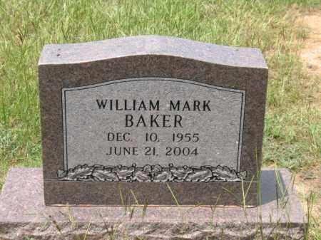 BAKER, WILLIAM MARK - Lafayette County, Arkansas | WILLIAM MARK BAKER - Arkansas Gravestone Photos