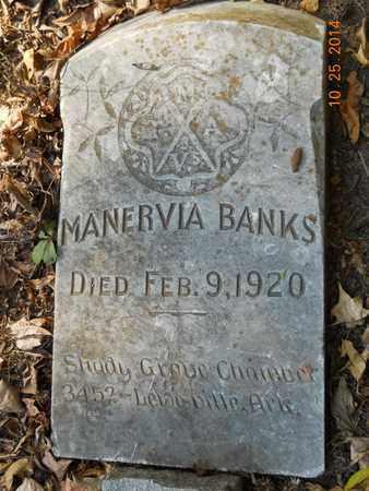BANKS, MANERVIA - Lafayette County, Arkansas | MANERVIA BANKS - Arkansas Gravestone Photos