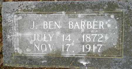 BARBER, J BEN - Lafayette County, Arkansas | J BEN BARBER - Arkansas Gravestone Photos