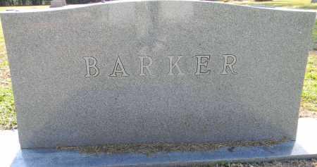 BARKER, FAMILY STONE - Lafayette County, Arkansas   FAMILY STONE BARKER - Arkansas Gravestone Photos