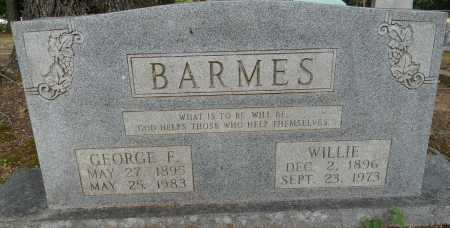 BARMES, GEORGE F - Lafayette County, Arkansas   GEORGE F BARMES - Arkansas Gravestone Photos