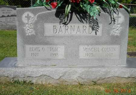 COLVIN BARNARD, VONCEIL - Lafayette County, Arkansas   VONCEIL COLVIN BARNARD - Arkansas Gravestone Photos