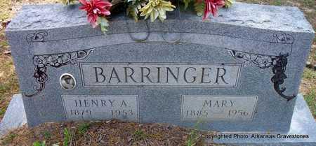 BARRINGER, MARY - Lafayette County, Arkansas | MARY BARRINGER - Arkansas Gravestone Photos