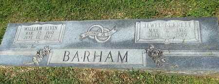 BURNETT BARHAM, JEWELL - Lafayette County, Arkansas | JEWELL BURNETT BARHAM - Arkansas Gravestone Photos