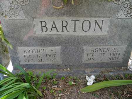 BARTON, ARTHUR A - Lafayette County, Arkansas | ARTHUR A BARTON - Arkansas Gravestone Photos