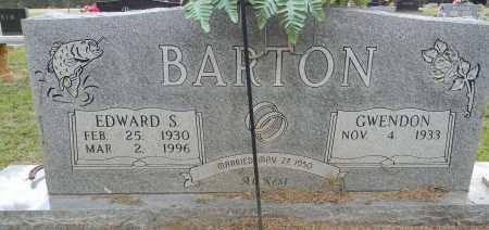 BARTON, EDWARD S - Lafayette County, Arkansas   EDWARD S BARTON - Arkansas Gravestone Photos