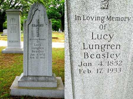 LUNGREN BEASLEY, LUCY - Lafayette County, Arkansas | LUCY LUNGREN BEASLEY - Arkansas Gravestone Photos