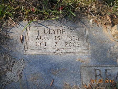BEAVER, CLYDE F (CLOSE UP) - Lafayette County, Arkansas | CLYDE F (CLOSE UP) BEAVER - Arkansas Gravestone Photos