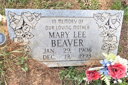 BEAVER, MARY LEE - Lafayette County, Arkansas   MARY LEE BEAVER - Arkansas Gravestone Photos