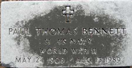 BENNETT (VETERAN WWII), PAUL THOMAS - Lafayette County, Arkansas   PAUL THOMAS BENNETT (VETERAN WWII) - Arkansas Gravestone Photos