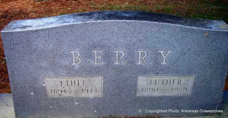 BERRY, ETHEL - Lafayette County, Arkansas | ETHEL BERRY - Arkansas Gravestone Photos