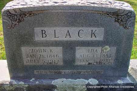 BLACK, IDA H - Lafayette County, Arkansas | IDA H BLACK - Arkansas Gravestone Photos