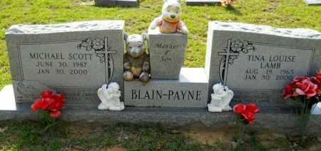 BLAIN, TINA LOUISE - Lafayette County, Arkansas   TINA LOUISE BLAIN - Arkansas Gravestone Photos