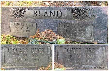 ORR BLAND, LOUISE - Lafayette County, Arkansas   LOUISE ORR BLAND - Arkansas Gravestone Photos