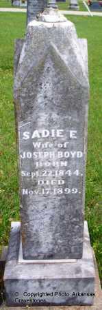 BOYD, SADIE E - Lafayette County, Arkansas | SADIE E BOYD - Arkansas Gravestone Photos