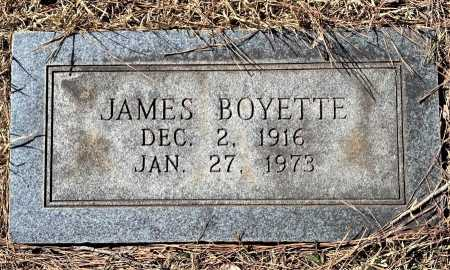 BOYETTE, JAMES - Lafayette County, Arkansas   JAMES BOYETTE - Arkansas Gravestone Photos