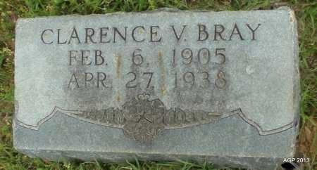 BRAY, CLARENCE V - Lafayette County, Arkansas | CLARENCE V BRAY - Arkansas Gravestone Photos