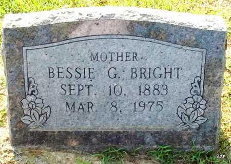 BRIGHT, BESSIE - Lafayette County, Arkansas | BESSIE BRIGHT - Arkansas Gravestone Photos