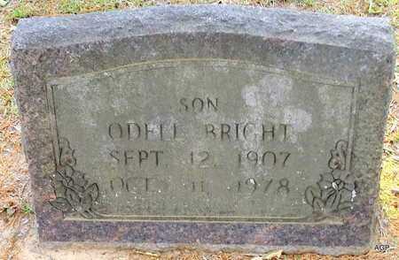 BRIGHT, DANIEL ODELL - Lafayette County, Arkansas | DANIEL ODELL BRIGHT - Arkansas Gravestone Photos