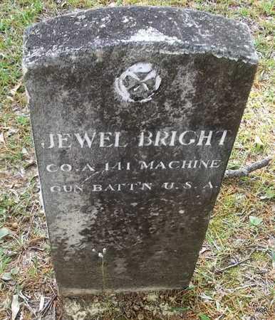 BRIGHT (VETERAN), JEWEL - Lafayette County, Arkansas | JEWEL BRIGHT (VETERAN) - Arkansas Gravestone Photos