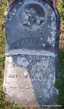 BRIGHT, SUSIE  E - Lafayette County, Arkansas   SUSIE  E BRIGHT - Arkansas Gravestone Photos