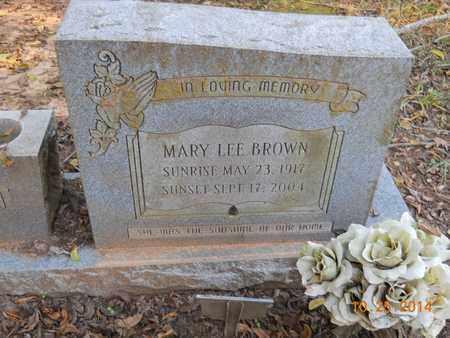 BROWN, MARY LEE - Lafayette County, Arkansas | MARY LEE BROWN - Arkansas Gravestone Photos