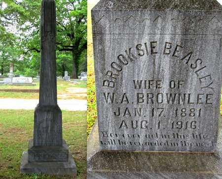 BROWNLEE, BROOKSIE - Lafayette County, Arkansas | BROOKSIE BROWNLEE - Arkansas Gravestone Photos