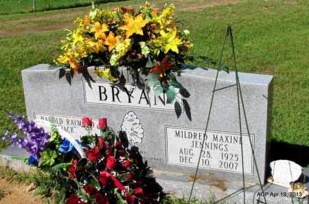 JENNINGS BRYAN, MILDRED MAXINE - Lafayette County, Arkansas | MILDRED MAXINE JENNINGS BRYAN - Arkansas Gravestone Photos