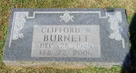 BURNETT, CLIFFORD W - Lafayette County, Arkansas | CLIFFORD W BURNETT - Arkansas Gravestone Photos