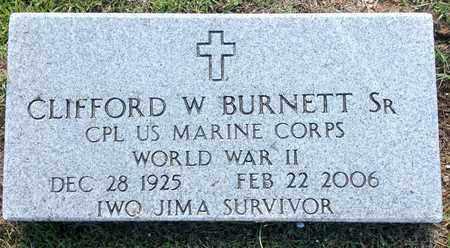 BURNETT, SR (VETERAN WWII), CLIFFORD W - Lafayette County, Arkansas | CLIFFORD W BURNETT, SR (VETERAN WWII) - Arkansas Gravestone Photos