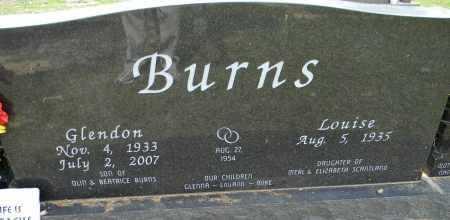 BURNS, GLENDON - Lafayette County, Arkansas | GLENDON BURNS - Arkansas Gravestone Photos