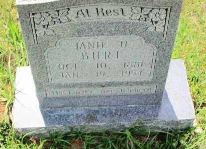 BURT, ELIZA JANIE - Lafayette County, Arkansas | ELIZA JANIE BURT - Arkansas Gravestone Photos